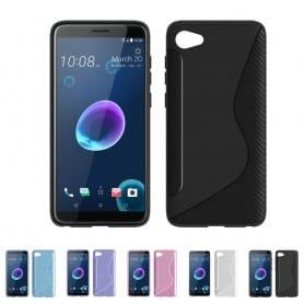 S Line silikonetui til HTC Desire 12 mobil shell tpu