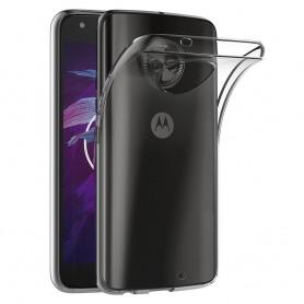 Motorola Moto X4 silikonetui gjennomsiktig mobilskall