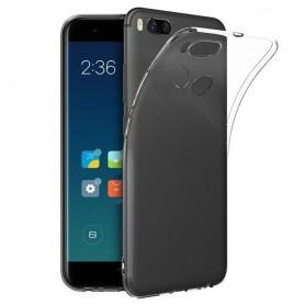 Xiaomi Mi A1 / 5X silikon mobiltelefon etui gjennomsiktig