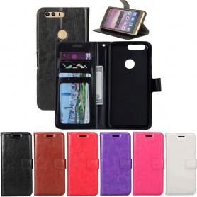 Mobil lommebok 3-kort Huawei P Smart FIG-L21 mobiltelefon veske CaseOnline.se