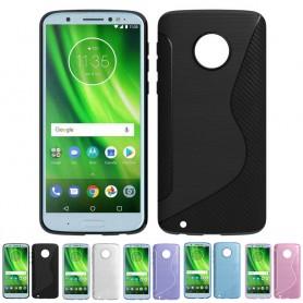 S Line silikonetui Motorola Moto G6 mobil shell caseonline