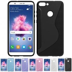 S Line silikonskall Huawei P Smart FIG-L21 mobilskall