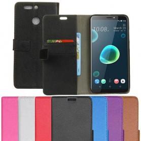 Mobil lommebok 2-kort HTC Desire 12 Plus Mobildeksel