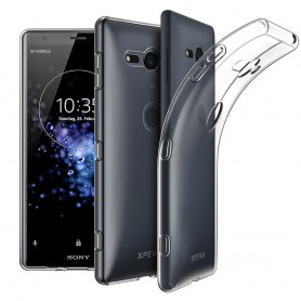 Sony Xperia XZ2 Compact silikonetui gjennomsiktig mobilskall