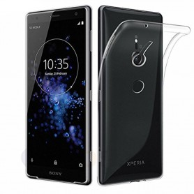 Mobil skall Sony Xperia XZ2 silikonetui gjennomsiktig