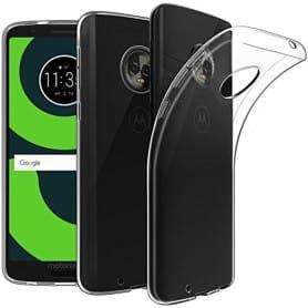 Mobil Shell Motorola Moto G6 Silikonetui Gjennomsiktig