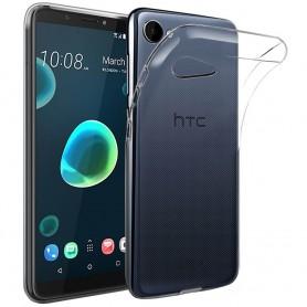 Mobil skall HTC Desire 12 Silikonetui Gjennomsiktig