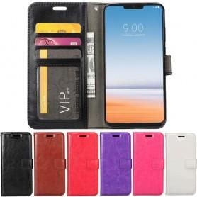 Mobil lommebok 3-kort LG G7 ThinQ mobil deksel