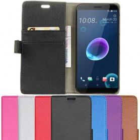 Mobil lommebok 2-kort HTC Desire 12 mobil deksel