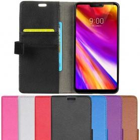 Mobil lommebok 2-kort LG G7 ThinQ beskyttelsesdeksel for mobil