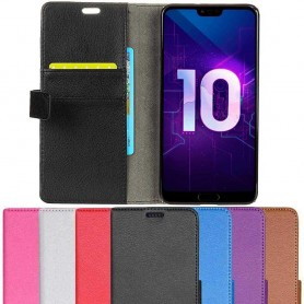 Mobil lommebok 2-kort Huawei Honor 10 mobiltelefon veske