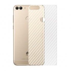Karbonfiberhudbeskyttende plast Huawei P Smart FIG-L21 Mobil Veske CaseOnline