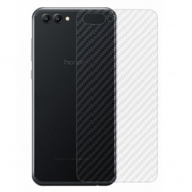 Karbonfiber hudbeskyttende plast Huawei View 10 Mobile Protected Caseonline