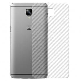 Karbonfiber hudbeskyttende plast OnePlus 3 / 3T mobilbeskyttelse kaseonline