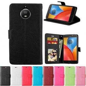 Mobil lommebok 3-kort Motorola Moto G5S Plus XT1805 mobiltelefon veske