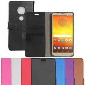 Mobil lommebok 2-korts Motorola Moto E5 pluss veskepose caseonline