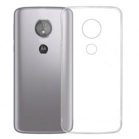 Silikonetui Gjennomsiktig Motorola Moto E5 mobil skall