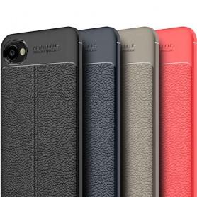 Skinnmønstret TPU-skall HTC Desire 12 mobil deksel