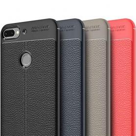 Skinnmønstret TPU-skall HTC Desire 12 Plus mobiltelefon skall