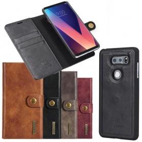 Mobil lommebok Magnetisk DG Ming LG V30 mobiltelefon veske flyttbar