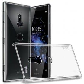IMAK Clear Hard Case Sony Xperia XZ2 mobilveske er veldig gjennomsiktig