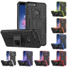 Sjokkbestandig skall med rack Huawei P Smart mobilt skall silikon CaseOnline.se