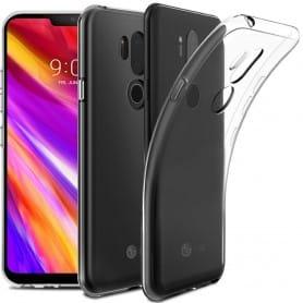 LG G7 ThinQ Silikonetui Gjennomsiktig ThinQ