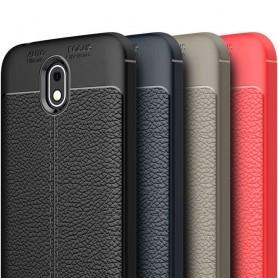 Lærmønstret TPU-deksel Nokia 1 Mobiltelefon beskyttelsesetui