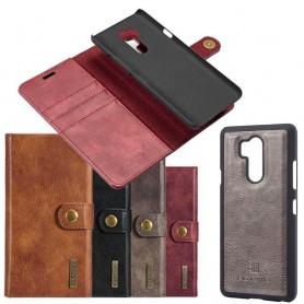 Mobil lommebok Magnetisk DG Ming LG G7 ThinQ 3. korts mobil ThinQ