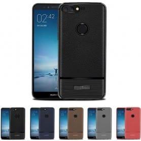 Robust Armor TPU-skall Huawei Y6 2018 mobilt skall silikon