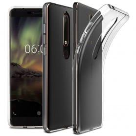 Silikonskal Gjennomsiktig Nokia 6.1 2018 mobilskall