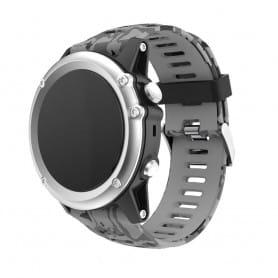Camo-armbånd Garmin Fenix 3 / 5X (grå)