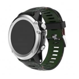 Camo-armbånd Garmin Fenix 3 / 5X (jungel)