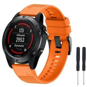 Sport armbånd Garmin Fenix 5 / Forerunner 935-Orange