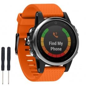Sport Armbånd Garmin Fenix 5S - Orange
