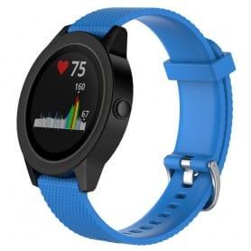 Sport Armbånd Garmin VivoActive 3 - Lys blå
