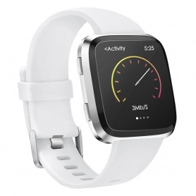 Sport armbånd for Fitbit Versa - Hvit