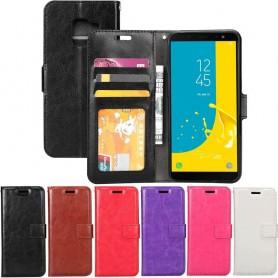 Mobil lommebok 3-kort Samsung Galaxy J6 2018