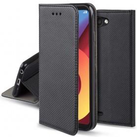 Moozy Smart Magnet FlipCase LG Q6 Mobildeksel