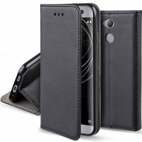 Moozy Smart Magnet FlipCase Sony Xperia XA2 Ultra Mobile Deksel