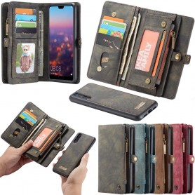 Multi Wallet 11 Card Huawei P20 Pro Mobil Cover Case Caseme Caseonline