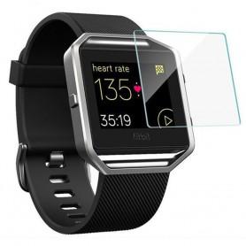 Fitbit Blaze skjermbeskytter herdet glass skjermbeskytter