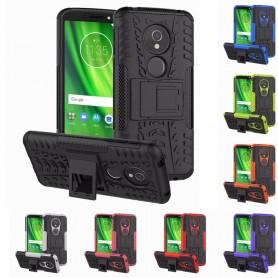 Slagbestandig skall med stativ Motorola Moto G6 Play mobildeksel