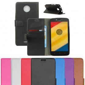 Mobil lommebok Motorola Moto C pluss skallbeskyttelse CaseOnline.se