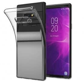 mobil skall Samsung Galaxy Note 9 Silikonetui Gjennomsiktig