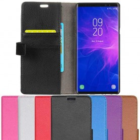Mobil lommebok 2-kort Samsung Galaxy Note 9 Mobil deksel