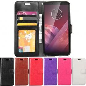 Mobil lommebok 3-kort Motorola Moto Z3 Play mobildeksel