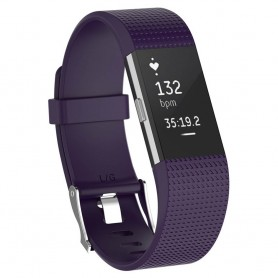 Sport armbånd for Fitbit Charge 2 - Purple