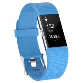 Sport armbånd for Fitbit Charge 2 - Lyseblå