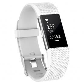 Sport armbånd for Fitbit Charge 2 - Hvit